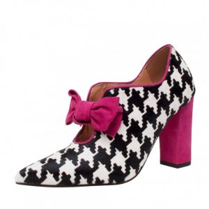 ZAPATOS ANTONIETA TWEED FUCSIA