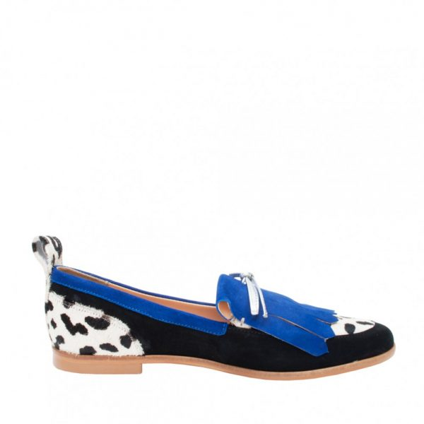MOCASINES BETTY CHITA AZUL