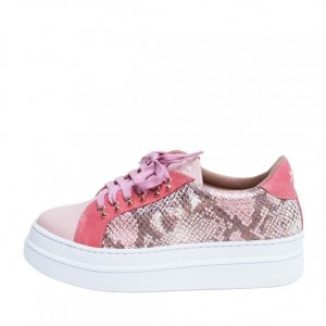 ZAPATILLAS DOMINGA PITON ROSADO